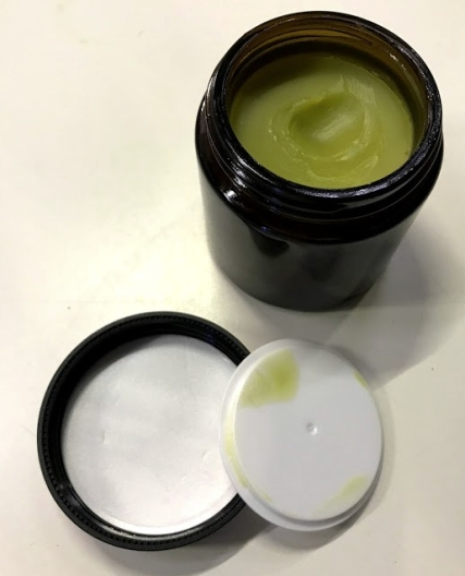 Homemade help salve to help aches and pains.